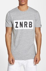Zanerobe Men's 'Bloc' Graphic T Shirt