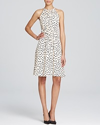 Kate Spade New York Cheetah Dot Print Tie Back Dress Shell