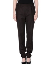 Mauro Grifoni Casual Pants Dark Brown