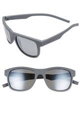 Men's Polaroid Eyewear 51Mm Polarized Retro Sunglasses Grey