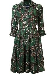 Samantha Sung 'Claire' Dress Green