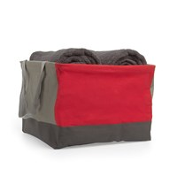 Umbra Crunch Large Tote Red Charcoal