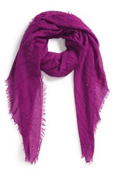 Women's Echo Sequin Embellished Crinkle Wrap Purple