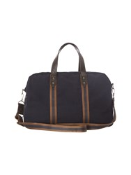 White Stuff Mens Stripe Tape Holdall Navy