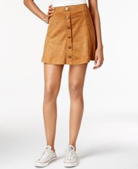 American Rag Faux Suede A Line Skirt Only At Macy's Tan