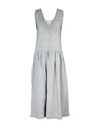 Angela Mele Milano Dresses Long Dresses Women Light Grey