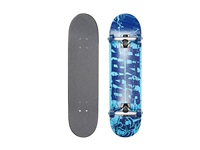 Darkstar Splatter Mid Complete Blue Skateboards Sports Equipment