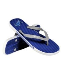 Forever Collectibles Detroit Lions Thong Sandals Blue