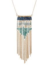 Forever 21 Beaded Longline Necklace