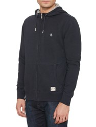 Original Penguin Zip Through Hoody Dark Sapphire