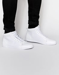 Aldo Vaywen Hi Top Trainers White