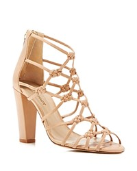 Delman Scandal Knotted High Heel Sandals