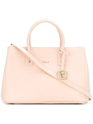 Furla 'Linda' Tote Bag Pink And Purple
