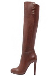 Mai Piu Senza High Heeled Boots Terra Brown