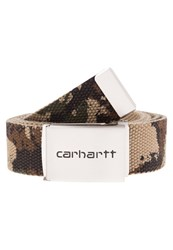 Carhartt Wip Belt Camo Painted Green Multicoloured
