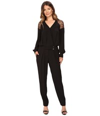 Prabal Gurung Lace Jumpsuit Black Women's Jumpsuit And Rompers One Piece