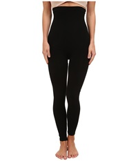 Spanx Look At Me High Waisted Cotton Leggings Black Hose
