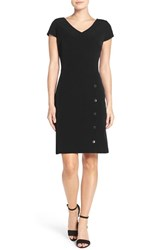 Julia Jordan Women's Snap Button Sheath Dress