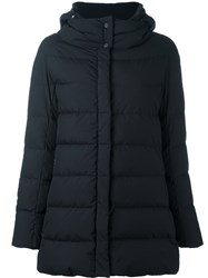 Herno Hooded Puffer Jacket Black