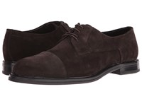 Hugo Boss Neoclass Derby By Green Dark Brown Men's Shoes