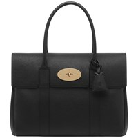 Mulberry Bayswater Classic Leather Bag Black