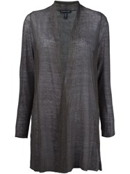 Eileen Fisher Semi Sheer Cardigan Green