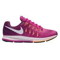 Nike Air Zoom Pegasus 33 Women's Running Shoes Fire Pink White