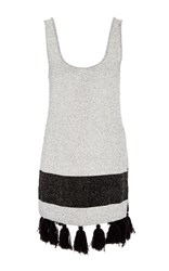 Proenza Schouler Tweed Knit Tunic Multi