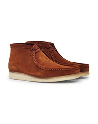 Clarks Originals Suede Wallabee Boot Camel