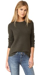 Paige Estelle Sweater Army