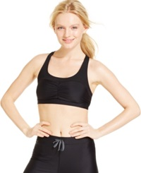 Roxy Spirit Medium Impact Racerback Sports Bra Black