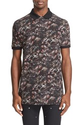 Givenchy Men's 'Monkeys All Over' Print Polo