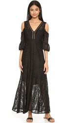 Nanette Lepore Merengue Maxi Dress Black