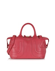 See By Chlo Kay Grained Leather Small Handbag Indian Pink