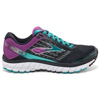 Brooks Ghost 9 Women's Running Shoes Black Purple