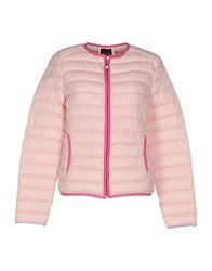 Twin Set Jeans Coats And Jackets Down Jackets Women Pink