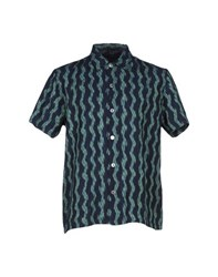 Marc By Marc Jacobs Shirts Shirts Men Dark Blue