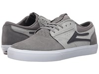 Lakai Griffin Grey Suede Men's Skate Shoes Gray