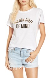 Sub Urban Riot Women's 'Golden State Of Mind' Graphic Tee
