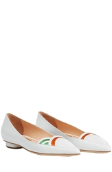 Rupert Sanderson Mondo Pointed Leather Loafers