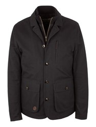 Racing Green Creation Double Front Jacket Charcoal