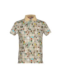 Basso And Brooke Topwear Polo Shirts Men Beige