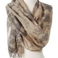Omsutra Organic Tie And Dye Scarves Brown