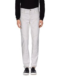 9.2 By Carlo Chionna Denim Denim Trousers Men White