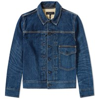 Rag And Bone Bartack Denim Jacket Blue