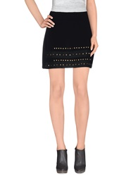 Pf Paola Frani Mini Skirts Black