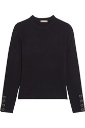 Michael Kors Collection Cashmere Sweater Midnight Blue
