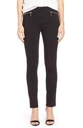 Women's Ivanka Trump Zip Pocket Slim Leg Pants Black