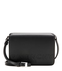 Givenchy New Small Xbody Leather Crossbody Bag Black