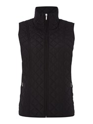 Tigi Quilted Tiffany Gilet Black